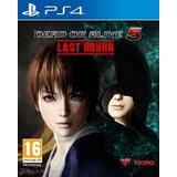 Ps4: Dead Or Alive 5 Last Round Pinky Games