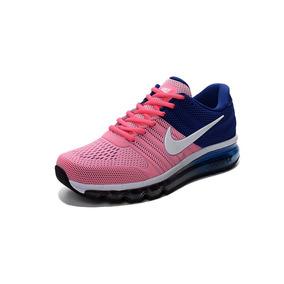 Zapatillas Nike Air Max 2017 Kpu Mujer Rosas - Envio Gratis