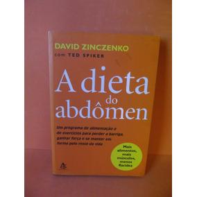Livro - A Dieta Do Adbômen - David Zinczenko