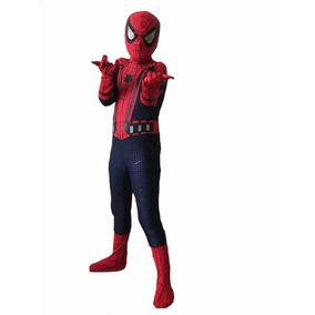 Disfraz Hombre Araña, Spiderman Licra Calidad Premium.