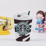Case Capinha De Silicone Starbucks Iphone 4 4s Frete Baixo
