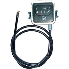 Relógio Marcador De Combustível Fusca 76/82 Cromado + Bóia