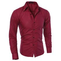 Camisa Social Slim Fit De Luxo Com Vários Modelos Lnc