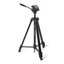 Tripé P/ Câmera Ou Filmadora C/ Altura Até 1,55m - Fusion
