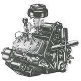 Motor Ford V8 59 - Ab