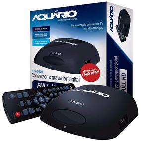 Conversor Digital Aquario Dtv 5000 Com Cabo Hdmi