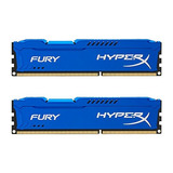 Memoria Kingston Hyperx Fury 16gb Kit 2x8gb 1600mhz Ddr3