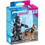 Playmobil Special Policia Especial Con Perro Art. 5369