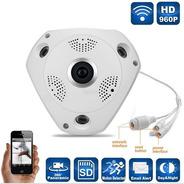 Camara Ip Wifi Inalambrica Vr Cam 3d Panoramica 360