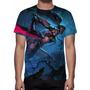 Camisa, Camiseta League Of Legends Akali Caçadora De Cabeças
