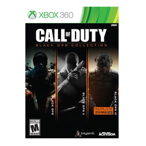 Call Of Duty Cod Black Ops Collection Xbox 360 Nota Fiscal
