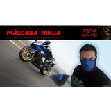 Mascara Cortaviento Moto Y Ciclismo Modelo Ninja