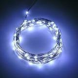 Luz Blanca Led Con Cable De Cobre 2m Decoracion Envio Gratis