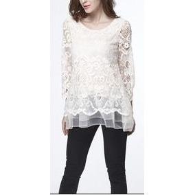 Tunica Encaje Simply Couture Crochet