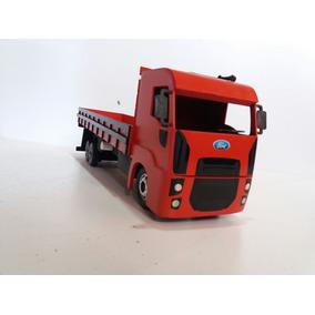 Caminhão Ford Cargo Carroceria Truck Miniatura