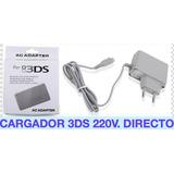 Cargador Multivoltaje 220v Para Nintendo Ds Dsi Dsxl 3ds Etc