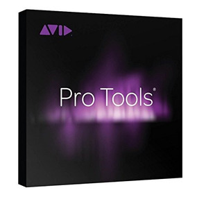 Avid Pro Tools Software With Annual Upgrade And Support Plan