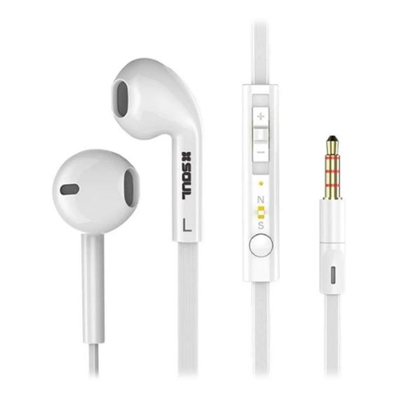 Auriculares Manos Libres Soul S389 Cable Plano Control Vol