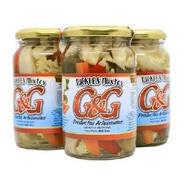 Pickles Mixtos En Vinagre G&g X480grs