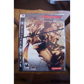 Metal Gear Solid 4 Limited Edition Error De Impresión