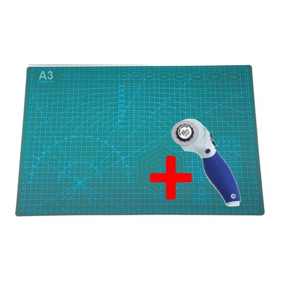 Combo Cutter Circular Guillotina + Tabla Base D Corte - A3 -