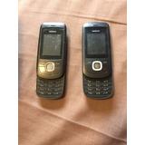 Três Aparelhos Nokia 2220 Para Retirada De Peças