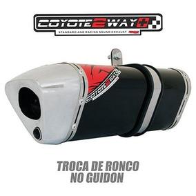 Escape Fazer 250 09/10 Trs 2 Way + Sao 4 Tipos De Ronco
