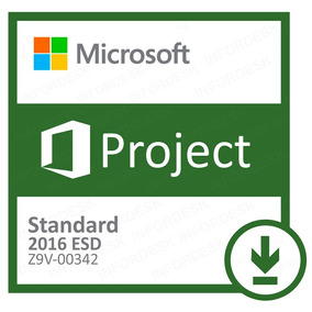 Microsoft Project Standard 2016 Esd Part Number Z9v-00342