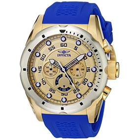 Invicta Mens 20307 Speedway Stainless Steel Watch With Blue