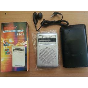 Radio Am Y Fm Con Audifonos Y Altavoz