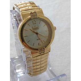 Relógio Feminino Dourado Original Frete Grátis