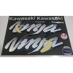 Jogo De Adesivos Zx11 Ninja 94 A 97 Preta Kawasaki