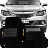 Tapete Carpete Confort Bordado Chevrolet Onix 2012 13 14 15