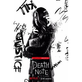 Poster Cartaz Grande Filme Death Note Arte Decoração Nerd