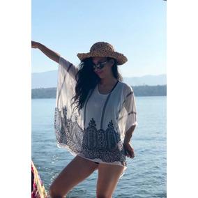 Caftán De Moda Mujer Salida De Playa Nuevo 2xprecio Especial