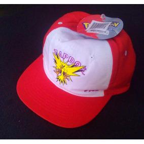 Gorra Pokemon Zapdos Nintendo Vintage Años 80 Nueva Sin Uso