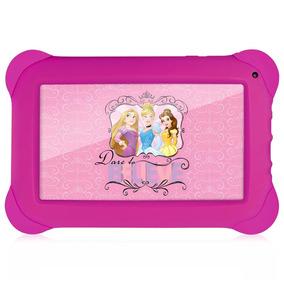 Tablet Multilaser Disney Princesas Nb239 Rosa Tela 7 Wi-fi