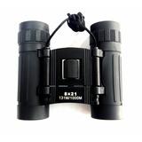 Binocular Bsp-1351 Pequeño 8x21 Con Estuche 131m/1000m