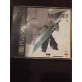Final Fantasy 7 Playstation 1