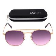 Oculos Ogrife Solar Feminino Og 1469-c Proteção Uv Original