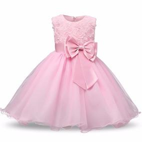 Vestido Infantil De Festa Daminha Lindo Luxo