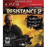 Juego Resistance 2 Ps3 Consola Play Station 3 Español Caja