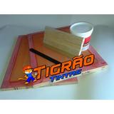 Kit 2 Tela Silk Para Peliculas De Unhas Rendada+tinta