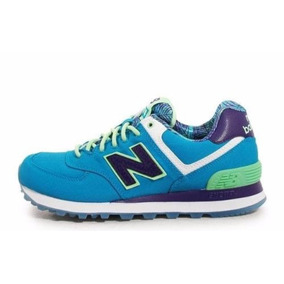 new balance 574 mujer verde agua mercadolibre