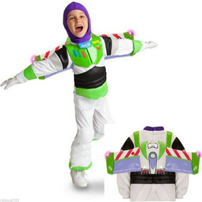 Fantasia Buzz Lightyear C/ Luz Disney Toy Story 4 5/6 Anos