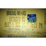Boleta Bruno Mars Bogotá 24k Magic World Tour Mercado Pago