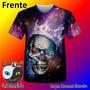 Camisas Personalizadas Rei Das Caveiras Psicodelico