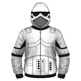 Star Wars Stormtrooper Sudadera Chamarra Niño S Envío Gratis