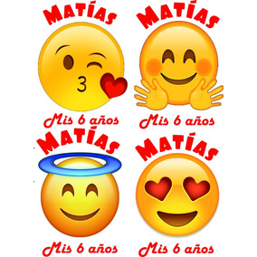 Bolsitas Golosinera Emojis Emoticones Caritas Personalizadas