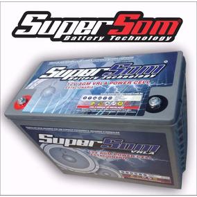 Bateria Gel 220 Ah Super Som Estacionária Agm Vrla Off Grid